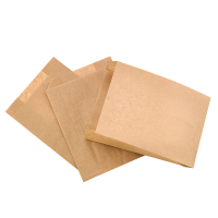 Greaseproof kraft multi-purpose paper bag  140x210mm H70mm