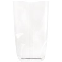 Transparent bag with cardboard bottom  120 H260mm