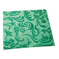 Dark green non-woven napkin  400x400mm