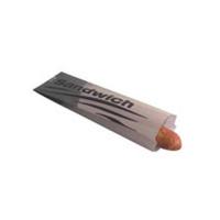 Kraft paper sandwich bag  100x40mm H340mm