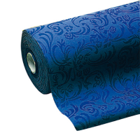 Non-woven navy blue tablecloth roll  50000x1200mm