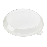 Clear plastic PET lid  Ø72mm  H10mm