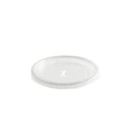 Clear plastic PS lid  Ø75mm