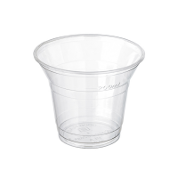 Clear PLA cup 300ml Ø96mm  H75mm