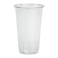 Clear PET plastic cup 590ml Ø92mm  H145mm