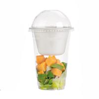 Clear PET plastic cup 580ml Ø95mm  H150mm