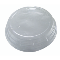 Clear PET plastic dome lid  Ø95mm