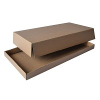 Kraft/brown cardboard lid  260x315mm