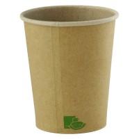 """""""Zen"""" kraft paper cup 120ml Ø62mm  H62mm"""