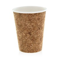 Cardboard and cork coffee cup 470ml Ø90mm  H136mm