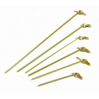 """Noshi"" bamboo looped skewer   H90mm"