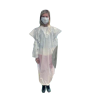 Sleeveless protective gown  1200x700mm